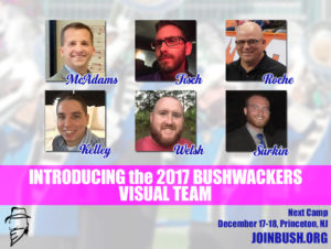 The 2017 Bushwackers Visual Team
